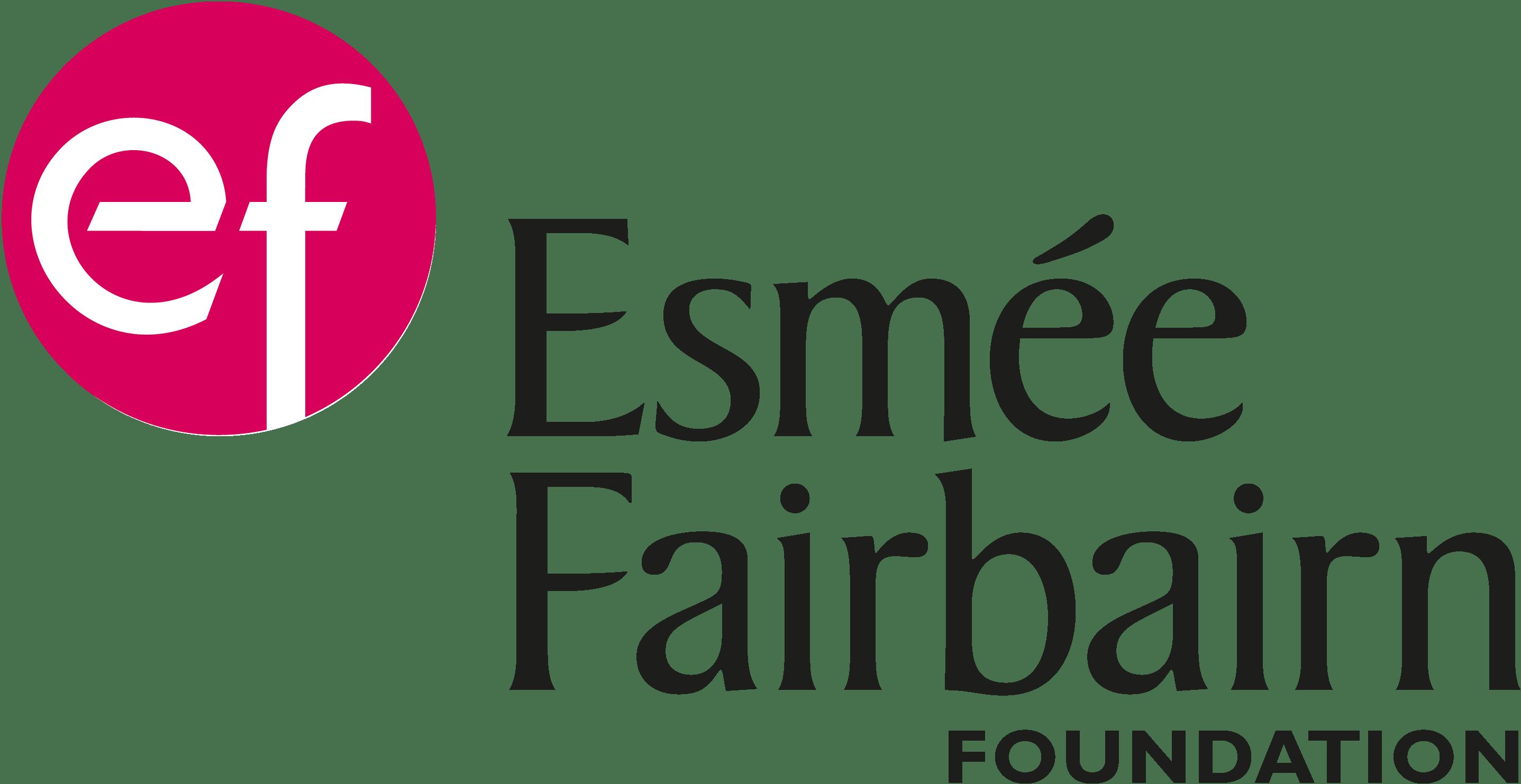Esmee Faribairn logo, leads to their website