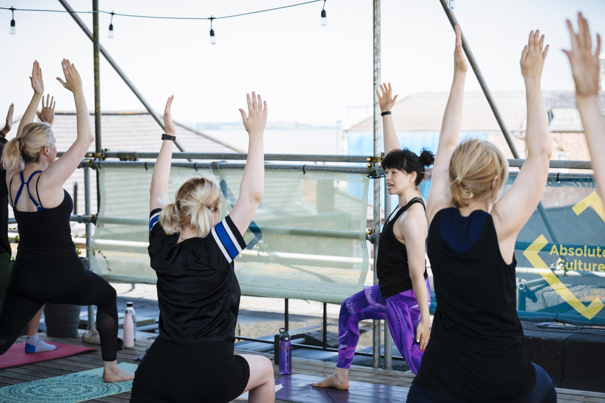 Yoga @ Humber Street Gallery