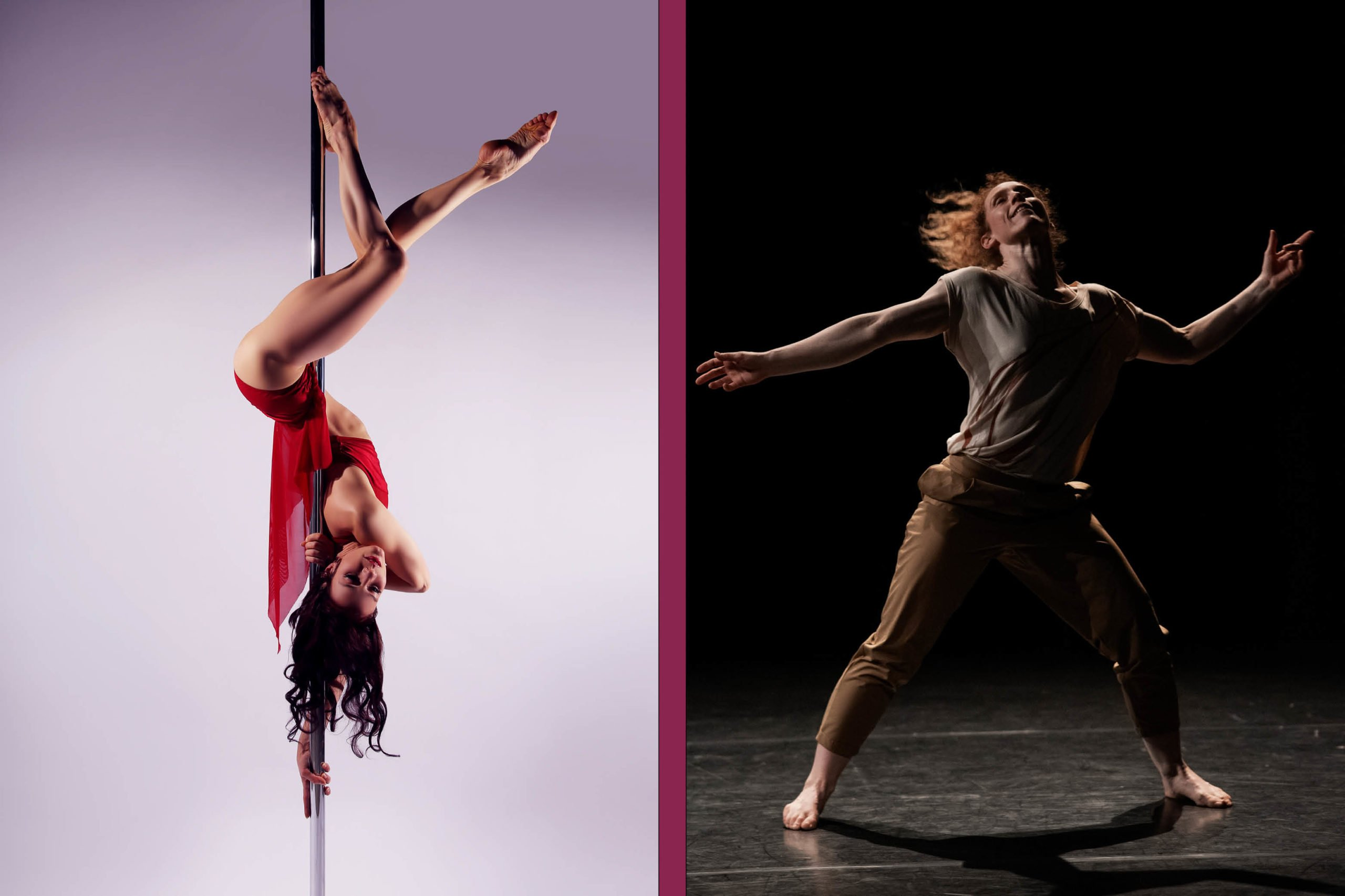 An evening of physical performance with Kristin McGuire and Nikki Rummer
